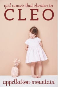 Cleo names