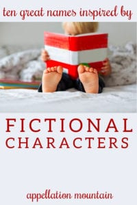 inspired by fictional characters