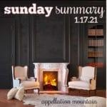 Sunday Summary: 1.17.21
