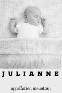 girl name Julianne