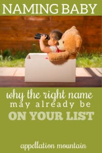 finding the right name
