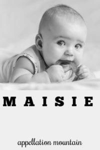 girl name Maisie