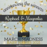 March Madness Baby Names 2021: The Winners!