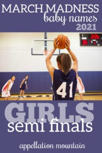 March Madness 2021 Girls SemiFinals