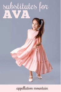 substitutes for Ava