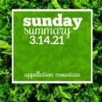 Sunday Summary 3.14.21