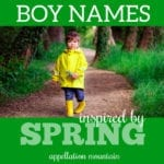 Spring Boy Names: Peter, Owen, Brooks