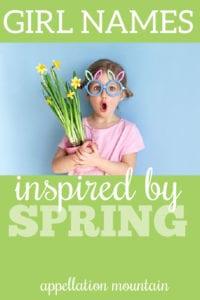 spring girl names