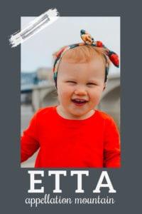 baby name Etta
