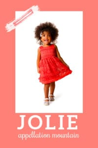 baby name Jolie