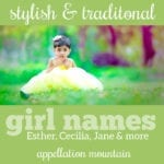 Trending Traditional Girl Names 2019