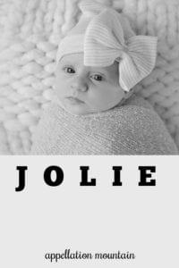 girl name Jolie