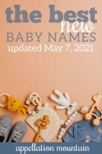 best new baby names 2021