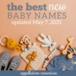 best new baby names 2021