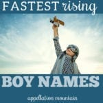Fastest Rising Boy Names: Theodore, Legend, Luca