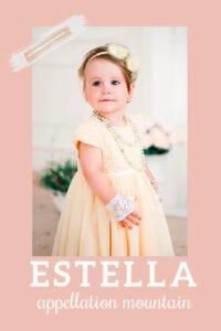 baby name Estella