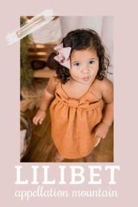baby name Lilibet