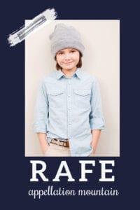 baby name Rafe