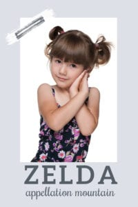 baby name Zelda