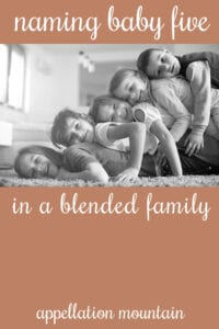 Name Help: baby five in a blended family