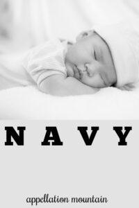 baby name Navy