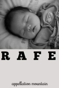 boy name Rafe