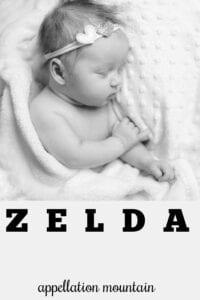 girl name Zelda
