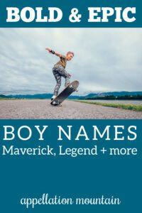 epic boy names
