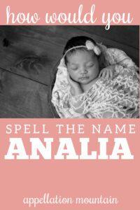 Name Help: Analia