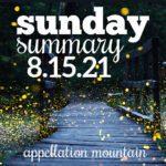 Sunday Summary 8.15.21