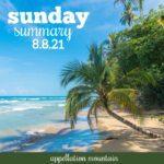 Sunday Summary 8.8.21