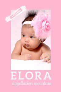 baby name Elora