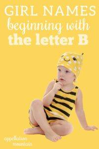 girl names beginning with B