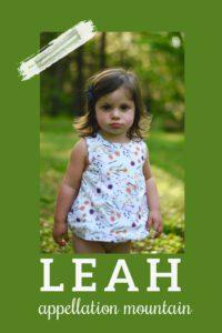 baby name Leah