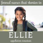 nickname Ellie