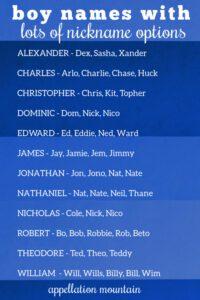 nickname rich boy names