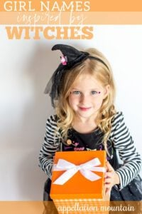 girl names inspired by witches